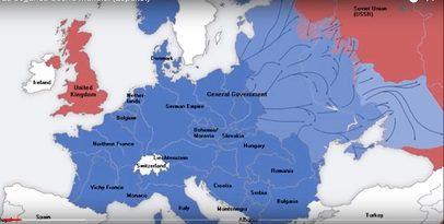 Europa segunda guerra mundial