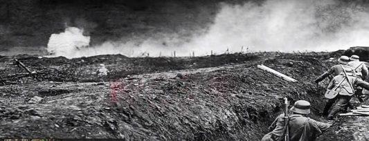 Gas en las trincheras