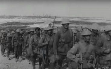 Preparativos batalla del Somme