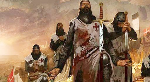 Templarios en batalla 2