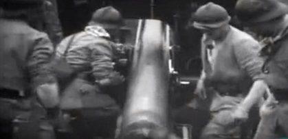 Artilleria francesa en Ypres