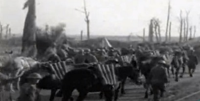 Avance aliado en Ypres