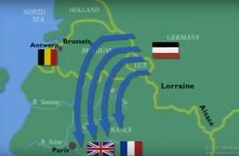 Mapa batalla del Marne