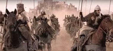Cruzados hacia Jerusalen