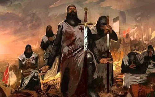Cruzados en Jerusalen