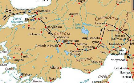 Mapa Cruzada