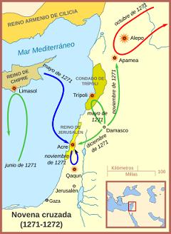 Mapa novena cruzada