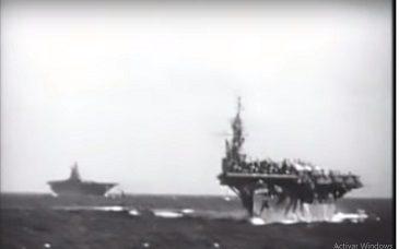 Portaaviones Norteamericanos en Guadalcanal