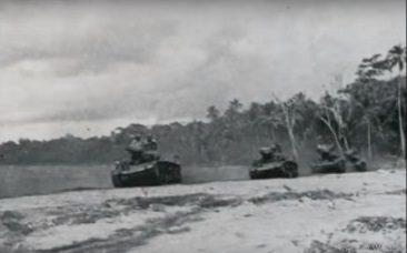 Tanques Norteamericanos en Guadalcanal