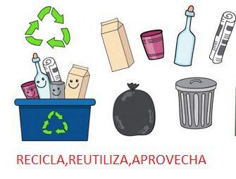 reciclar reutilizar