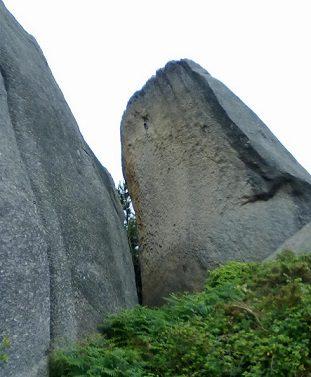Zona escalada Penas do Castelo