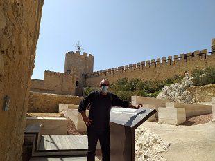 Interior castillo Castalla