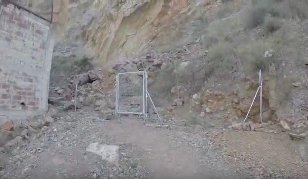Puerta de entada a la Cantera