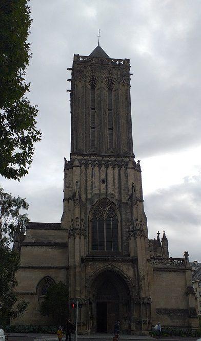 Frontal iglesia de saint Jean