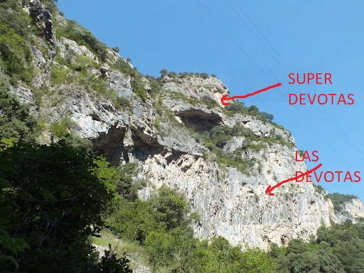 Zona escalada las Devotas 2