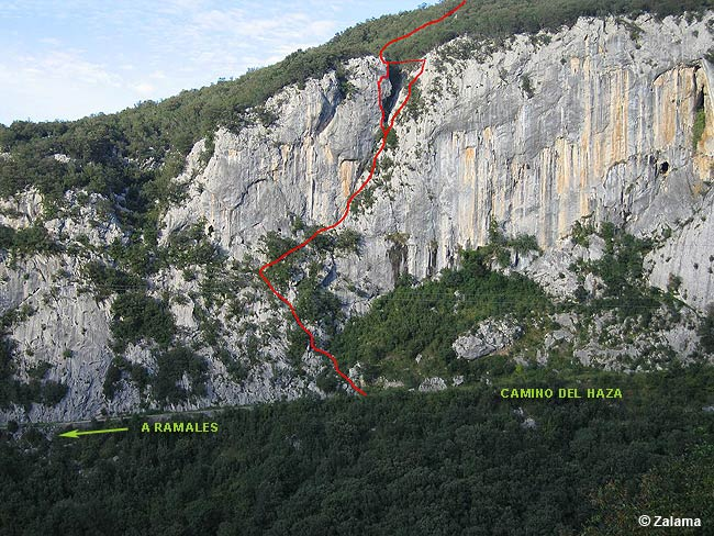 via ferrata el caliz