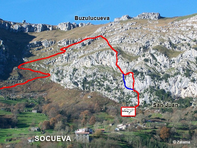 via ferrata socueva